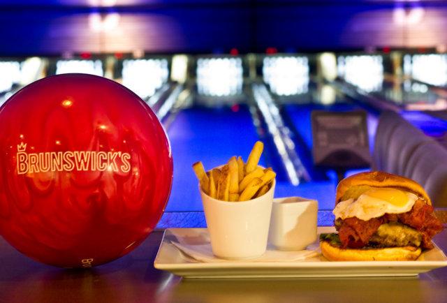 Bowling fun diner