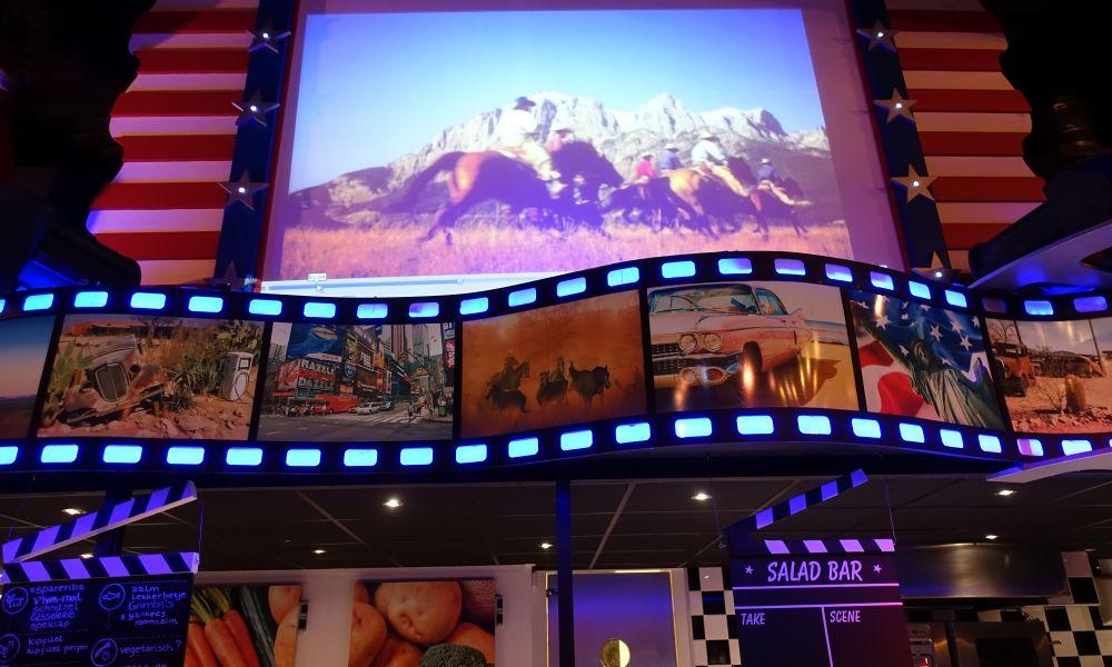 Movie Fun Diner bij het All you can eat restaurant!